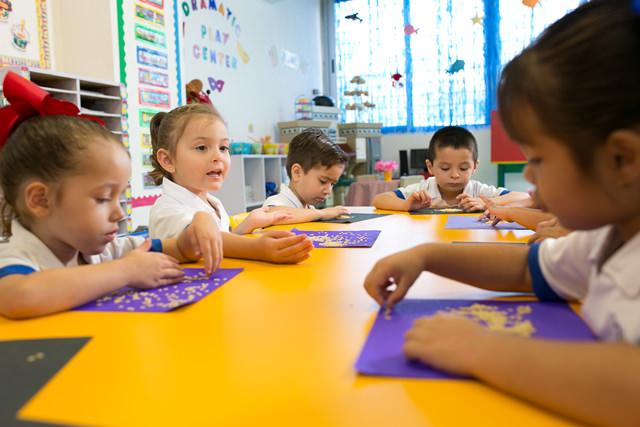 Salón preescolar